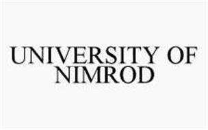 UNIVERSITY OF NIMROD