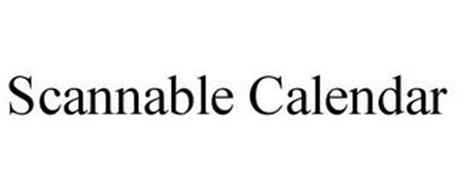 SCANNABLE CALENDAR