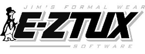 JIM'S FORMAL WEAR E-ZTUX SOFTWARE