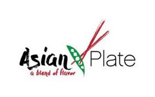ASIAN PLATE A BLEND OF FLAVOR