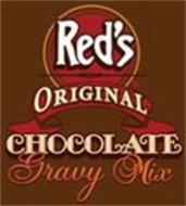 RED'S ORIGINAL CHOCOLATE GRAVY MIX