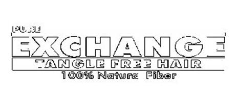 PURE EXCHANGE TANGLE FREE HAIR 100% NATURA FIBER