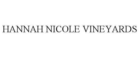 HANNAH NICOLE VINEYARDS