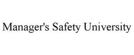 MANAGER'S SAFETY UNIVERSITY
