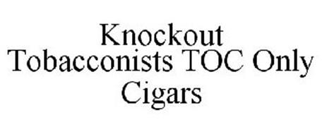 KNOCKOUT TOBACCONISTS TOC ONLY CIGARS