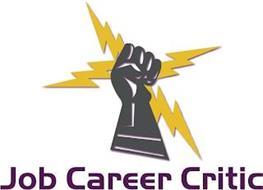 JOB CAREER CRITIC