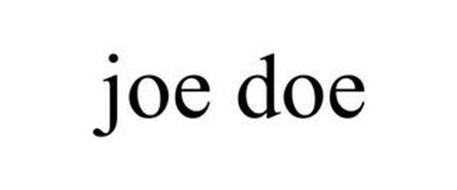 JOE DOE