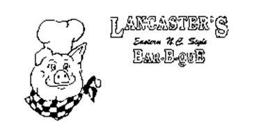 LANCASTER'S EASTERN N.C. STYLE BAR-B-QUE