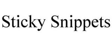 STICKY SNIPPETS
