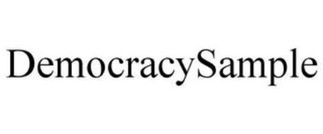 DEMOCRACYSAMPLE