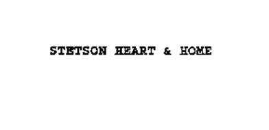 STETSON HEART & HOME