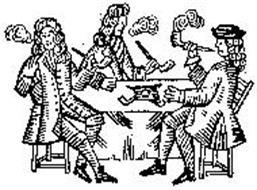 DESIGN OF THREE MEN SMOKING