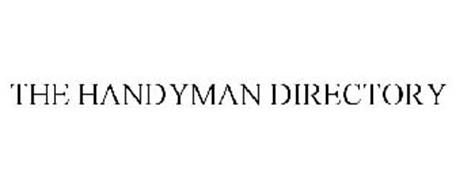 THE HANDYMAN DIRECTORY