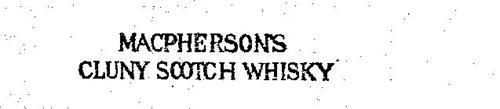 MACPHERSON'S CLUNY SCOTCH WHISKY