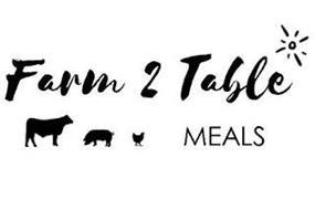 FARM 2 TABLE MEALS