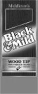 MIDDLETON'S BLACK & MILD WOOD TIP PIPE-TOBACCO CIGARS