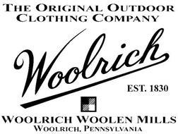 THE ORIGINAL OUTDOOR CLOTHING COMPANY WOOLRICH EST. 1830 WOOLRICH WOOLEN MILLS WOOLRICH, PENNSYLVANIA