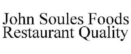 JOHN SOULES FOODS RESTAURANT QUALITY