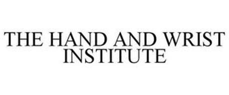 THE HAND AND WRIST INSTITUTE
