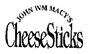 JOHN WM MACY'S CHEESESTICKS