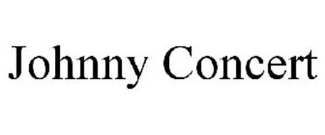 JOHNNY CONCERT