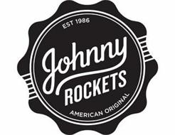 JOHNNY ROCKETS EST. 1986 AMERICAN ORIGINAL