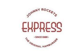 JOHNNY ROCKETS EXPRESS · SINCE 1986 · THE ORIGINAL HAMBURGER