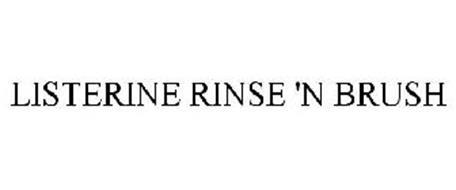 LISTERINE RINSE N' BRUSH