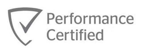 PERFORMANCE CERTIFIED