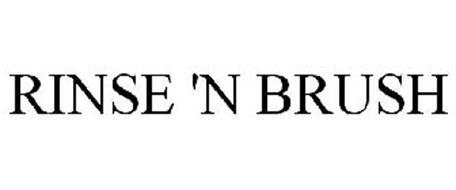 RINSE N' BRUSH