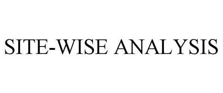 SITE-WISE ANALYSIS
