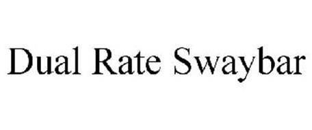 DUAL RATE SWAYBAR