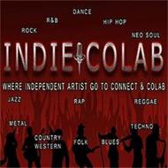 INDIE COLAB ROCK R&B DANCE HIP HOP NEO SOUL JAZZ RAP REGGAE METAL COUNTRY WESTERN FOLK BLUES WHERE INDEPENDENT ARTIST GO TO CONNECT & COLAB