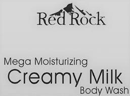 RED ROCK MEGA MOISTURIZING CREAMY MILK BODY WASH