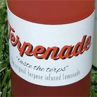 """TERPENADE """"TASTE THE TERPS"""" THE ORIGINAL TERPENE INFUSED LEMONADE"""