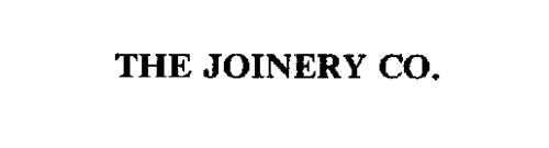 THE JOINERY CO.