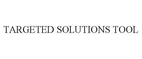 TARGETED SOLUTIONS TOOL