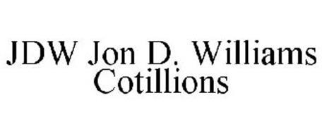 JDW JON D. WILLIAMS COTILLIONS