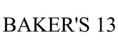BAKER'S 13