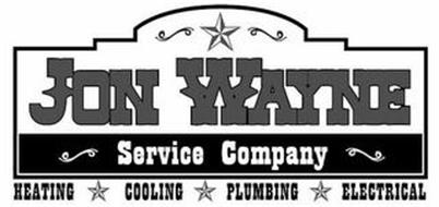 JON WAYNE SERVICE COMPANY HEATING COOLING PLUMBING ELECTRICAL