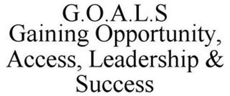 G.O.A.L.S GAINING OPPORTUNITY, ACCESS, LEADERSHIP & SUCCESS