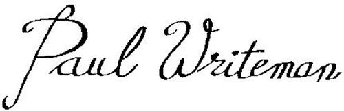 PAUL WRITEMAN