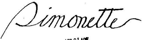 SIMMONETTE