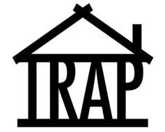 THE WORDS TRAP SPELLED OUT INSIDE OF HOUSE SHAPE FIGURE