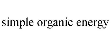 SIMPLE ORGANIC ENERGY