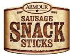 ARMOUR EST. 1867 SAUSAGE SNACK STICKS