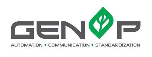 GENOP AUTOMATION · COMMUNICATION · STANDARDIZATION