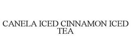 CANELA ICED CINNAMON ICED TEA