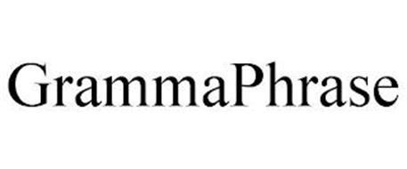 GRAMMAPHRASE