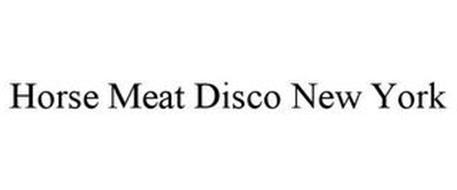 HORSE MEAT DISCO NEW YORK
